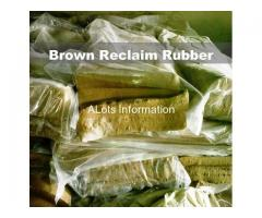 Light Brown Reclaim Rubber