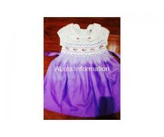 Handmade Smocked Children's Dress