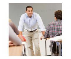 Математика на английском, преподаватель из США