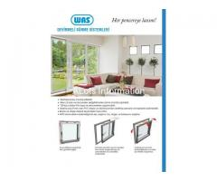 PVC door and window accessories